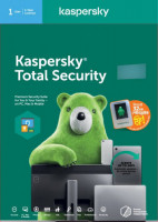 Kaspersky Total Security 2021 1 User for 1 PC