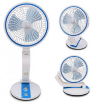 USB Rechargeable Fan With LED Light