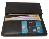 Shainpur SN-W12 Long Leather Wallet with Mobile Cover