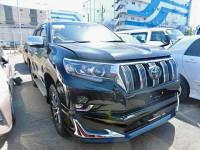 Toyota Land Cruiser Prado TX 2018 Jet Black Color