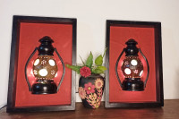 Wall Lamp of Coconut Hard Shell