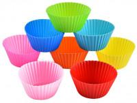 6-Pieces Silicone Reusable Cupcake
