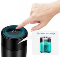 LED Touchscreen Temperature Display Vacuum Flask