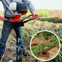 Tree Planting Earth Auger Machine