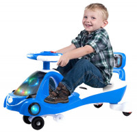 Kids Magic Swing Car with Music and LED Light