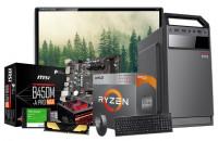 Desktop AMD Ryzen 5 8GB RAM 120GB SSD