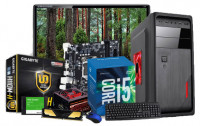 """Intel Core i5 6th Gen Computer PC with 19"""" LED Monitor"""