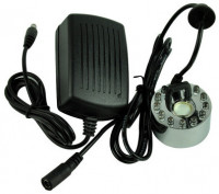 12-LED Steel Mist Maker & Air Humidifier