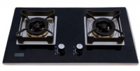 B-235 Gazi Gas Stove with Tempered Glass