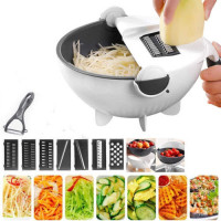9-In-1 Rotate Vegetable Cutter