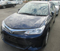Toyota Axio G Blue Non-Hybrid 2016