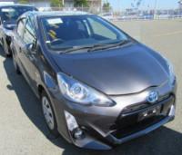 Toyota Aqua G Hybrid 2016 Gray Color