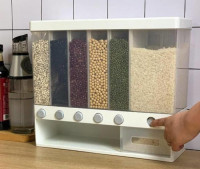 6-in-1 Wall Mounted Food Storage Box for Kitchen