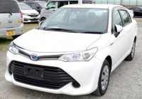 Toyota Axio X Hybrid 2016 White Color