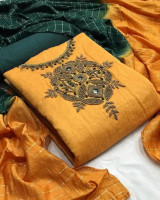 Fancy Fabric Unstitched Salwar Kameez