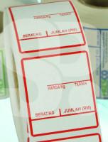 40 x 60mm Digital Weight Scale Sticker
