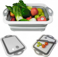 All-in-One Foldable Box with Cutting Board
