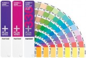 Pantone Coated & Un-Coated Plus Series Formula Color Card