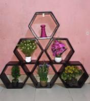 Hexagonal Wall Shelves