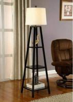 Modern Floor Lamp With Shelf