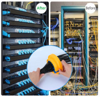 Network Cable Dressing and Pulling Service