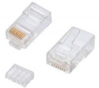 Vivanco Cat 6 RJ45 UTP Cable Connector 100 pcs