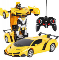 Car to Robot Converting Toy for Kids