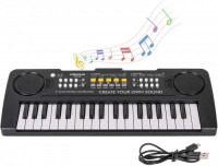 Electronic Piano with Microphone