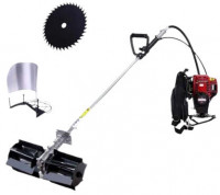 2 Stroke China Paddy Cutter & Weed Cleaning Machine