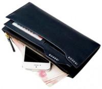 Bogesi Black Genuine Leather Wallet