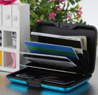Smart Card Lock Wallet Zippered Security Compartment
