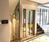 ISO Certified Residential Pneumatic Glass Home Lift