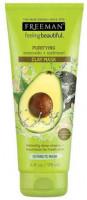 Freeman Purifying Avocado+Oatmeal Clay Mask-175ml