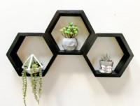 Hexagonal Wall Mounted Display Rack