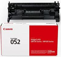 Canon 052 Genuine Black Toner Cartridge