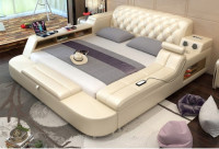 Fashionable Design Leather Bed