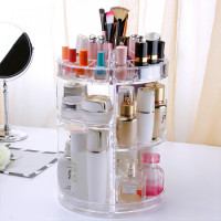 360° Rotation Cosmetics & Makeup Organizer