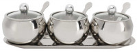 Stainless Steel Spice Pot Set