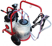 Cow Milking Single Bucket Machine