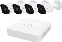 Uniview UNV 4-CH NVR with 4 Camera CCTV Package