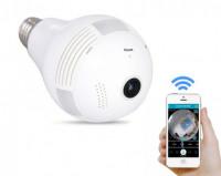 Panoramic V380 Wireless IP 360 Degree Bulb Camera