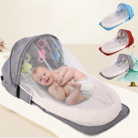 Folding Travel Bag for Baby with Mosquito Net