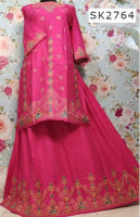 China Linen Skirt with Gown for Women