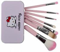 Hello Kitty 7 Piece Mini Makeup Brush Set