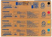 Toshiba T-FC415C-YMCK Original Color Toner Set