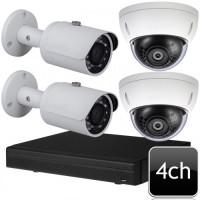 CCTV Package 4-CH Dahua XVR 4-Pcs 5MP Camera 500GB HDD