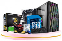 Gaming PC Core i3 6th Gen 8GB RAM 120GB SSD & 500GB HDD