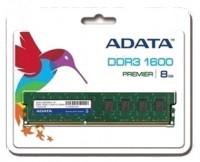 AData 8GB DDR3 1600 Bus Speed Internal Desktop RAM