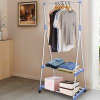 Portable Vertical Foldable Cloth Rack