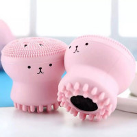 Octopus Shape Face Cleansing Brush
